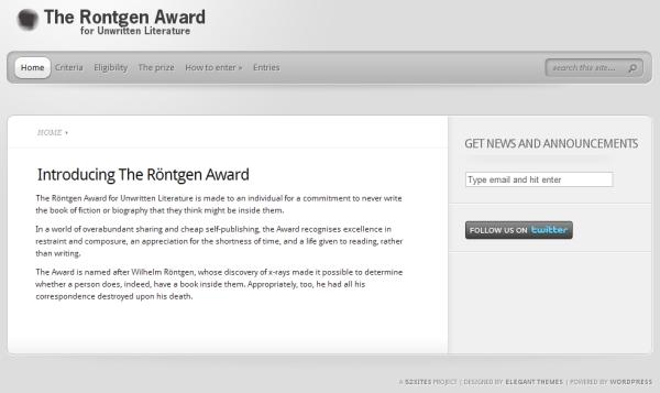 rontgenaward.com